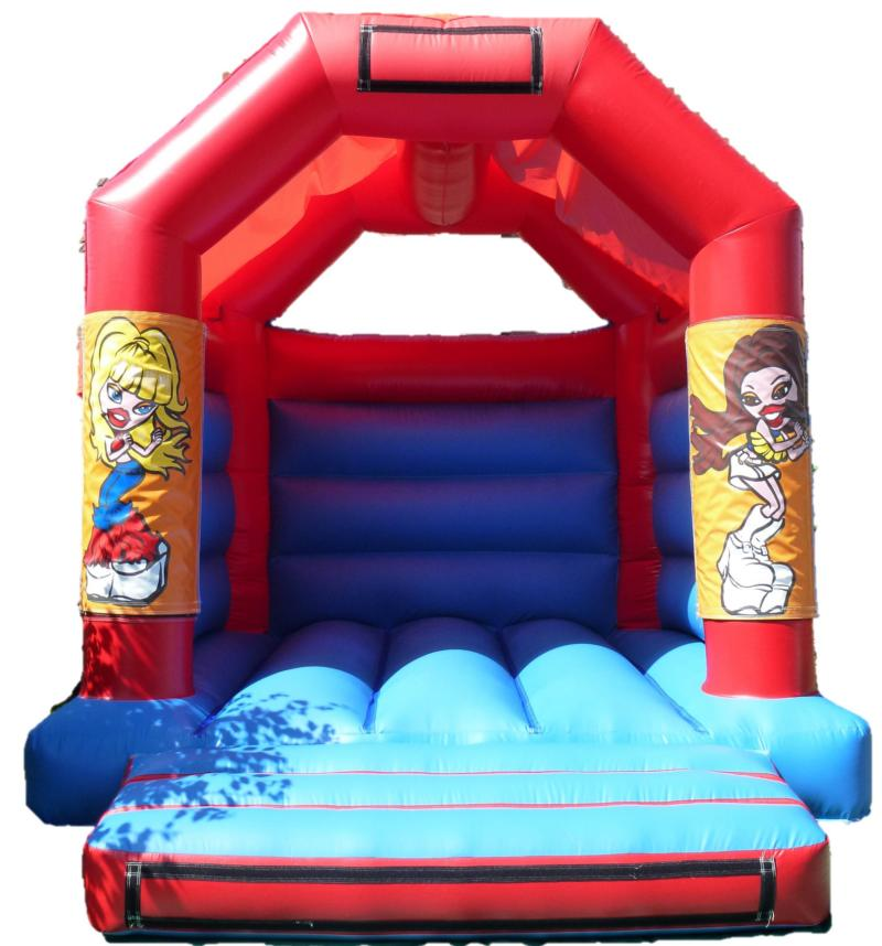 11x13ft Bratz Bouncy Castle
