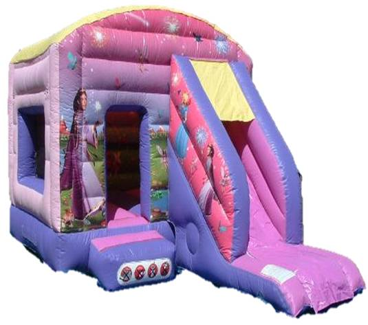 12x18ft Garden Princess Bounce n Slide