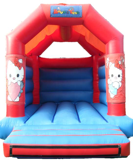 11x13ft Hello Katty Bouncy Castle