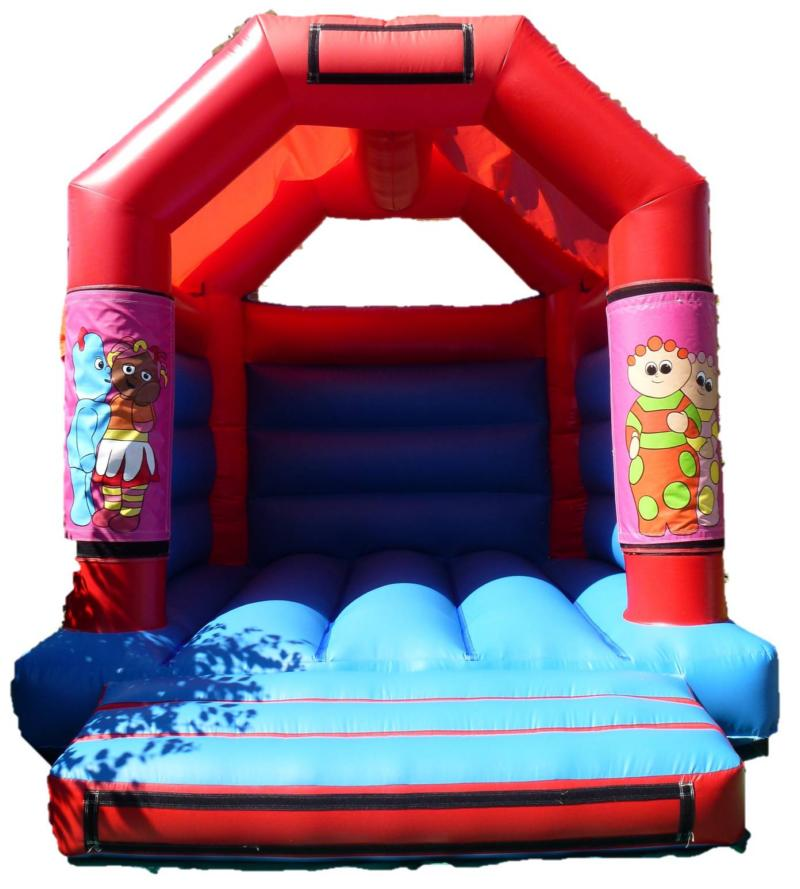 11x13ft In The Night Garden Bouncy Castle