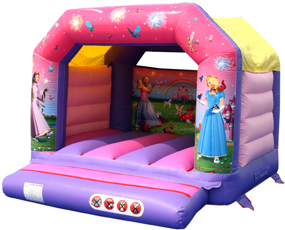12x13ft Enchanted Garden Princess Bouncy Castle