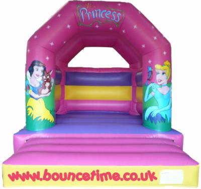 12x14ft Fairytail Disney Princess Bouncy Castle