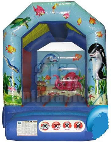 8x11ft Seaworld Childs Bouncy Castle
