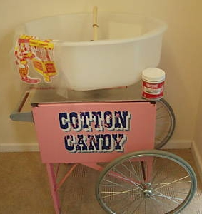 Candy Floss / Cotton Candy Machine Rental