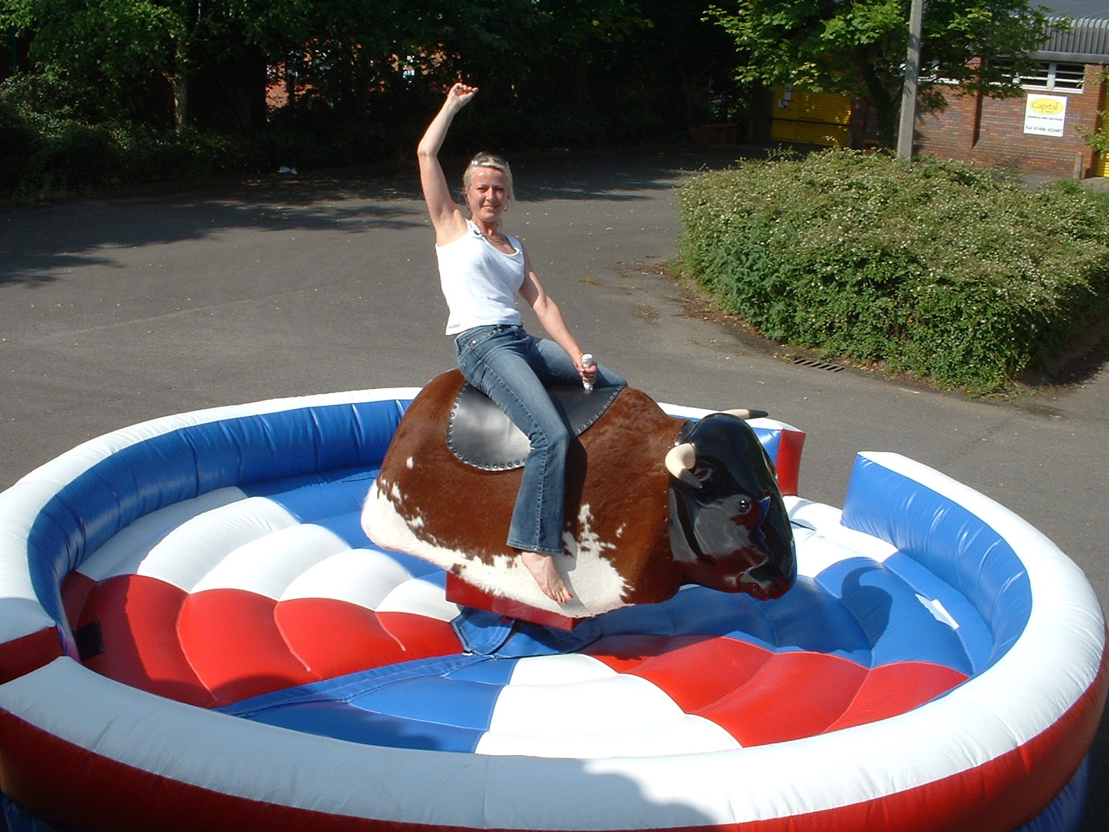 hire a bull ride machine